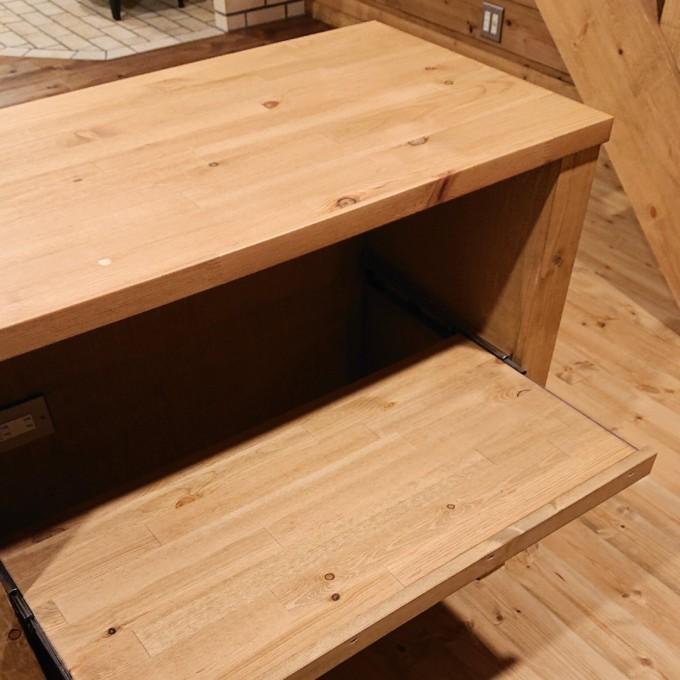 キッチンカウンター稼働棚