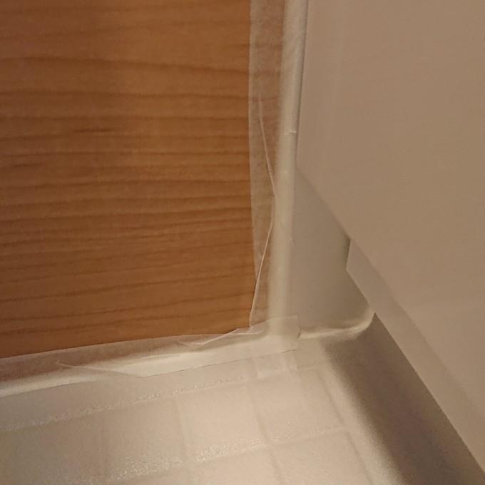 ダイソーカビ防止マスキングテープ